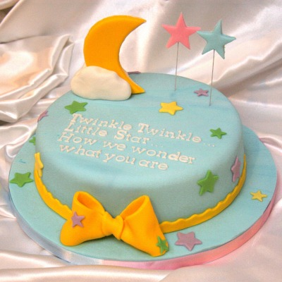 Baby shower cake - Twinle Twinkle Little Star