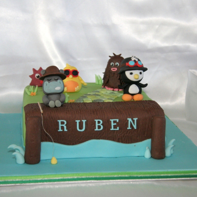 Moshi Monsters - Pingu edible cake toppers